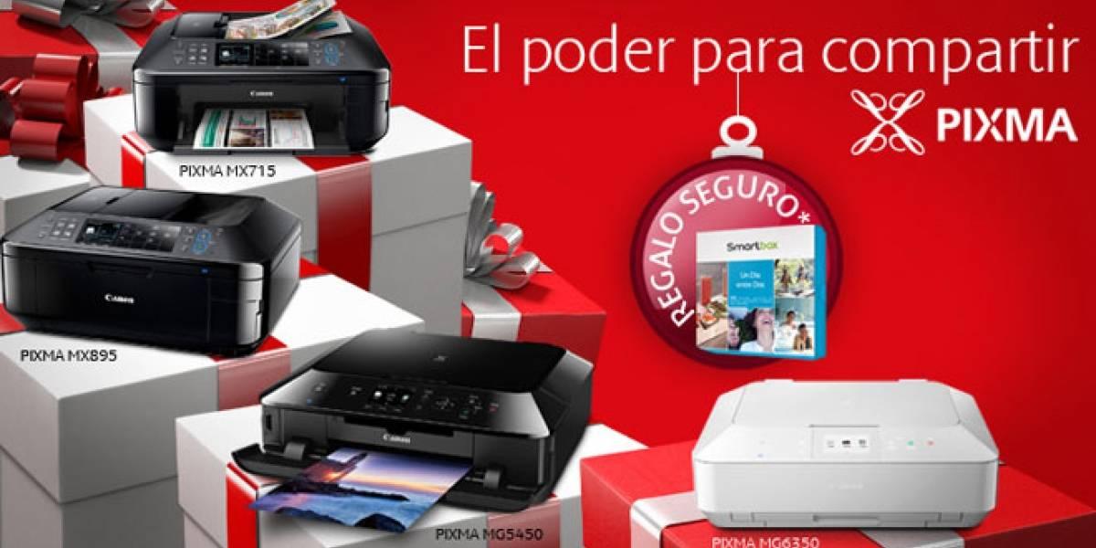 """España: Canon te regala el smartbox """"Un día entre dos"""" por la compra de una impresora PIXMA"""