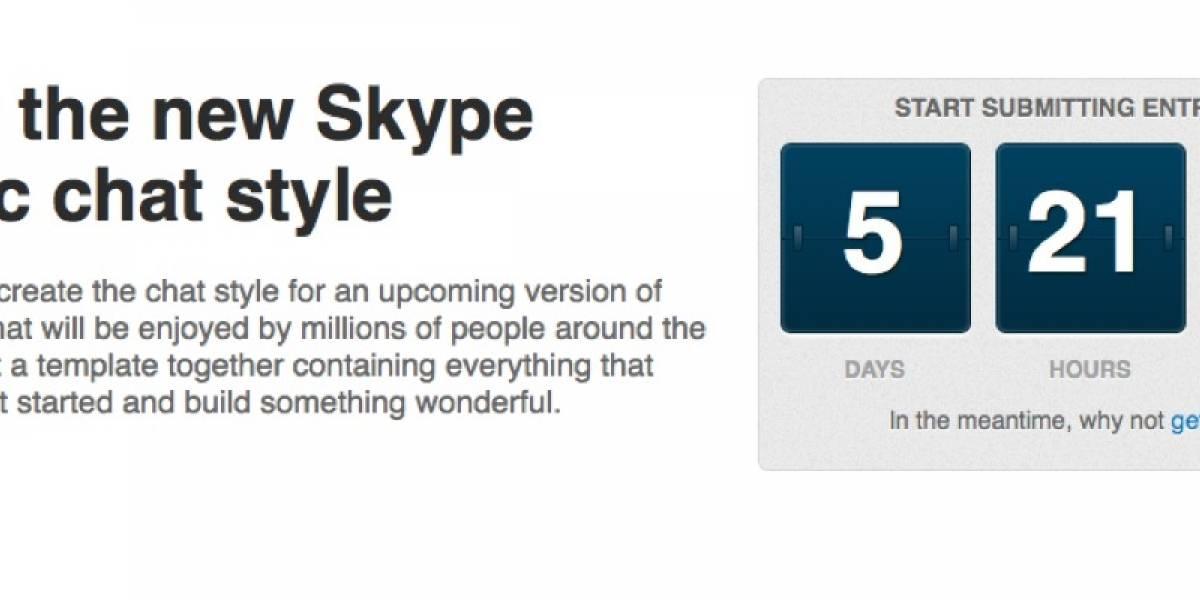 Skype crea concurso para mejorar el chat de su versión para Mac