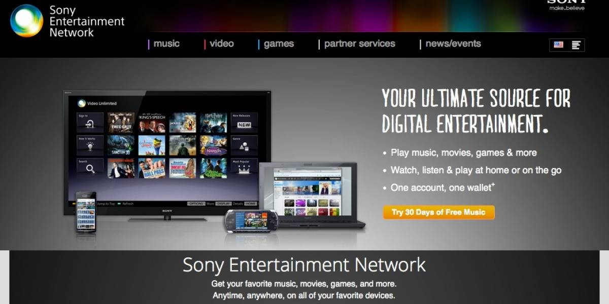 "Sony elimina Qriocity y lanza ""Entertainment Network"""