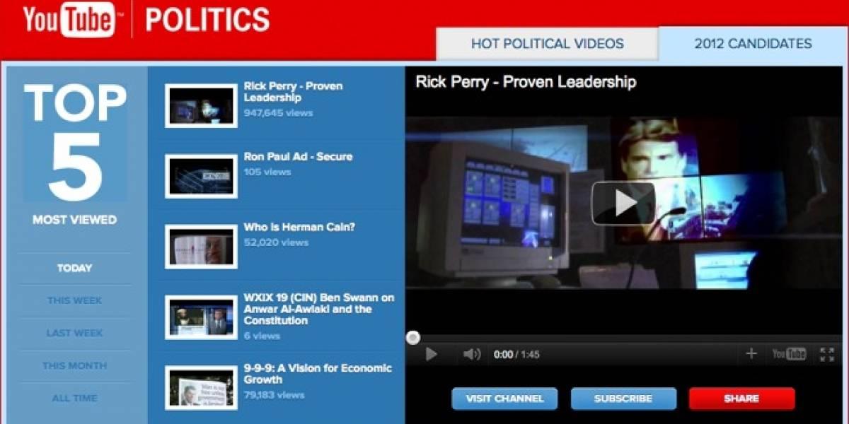 YouTube lanza canal político y arriendo de películas en Inglaterra