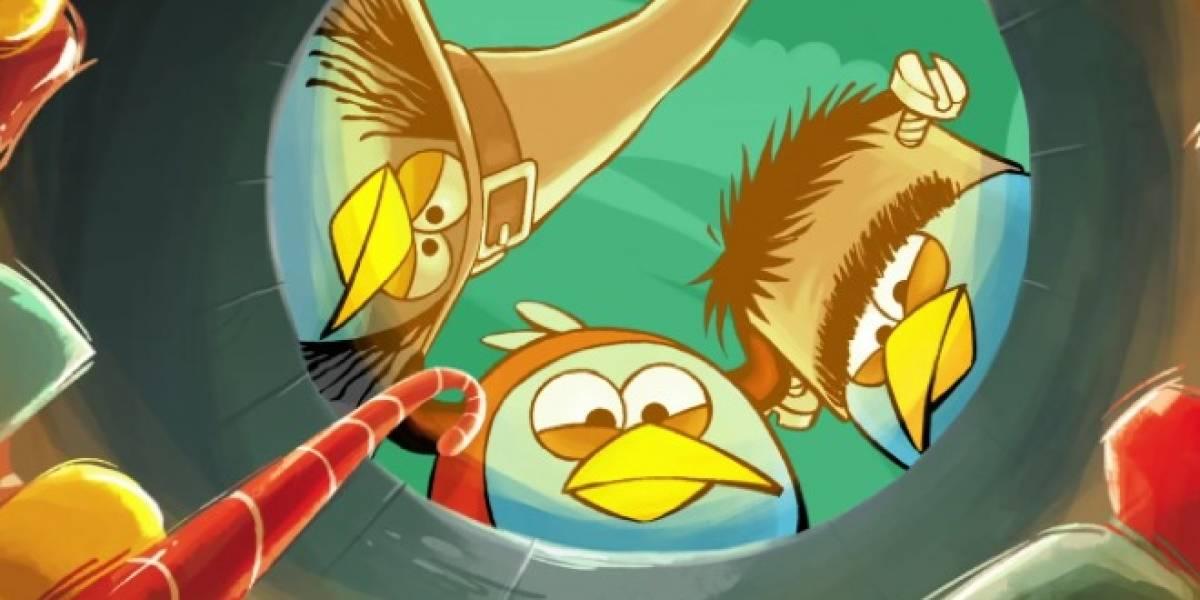 Angry Birds prepara nueva versión para Halloween