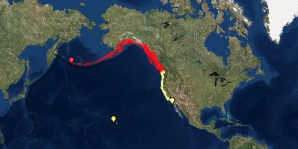 Terremoto de 8,2 remece a Alaska y SHOA descarta posibilidad de tsunami para las costas chilenas