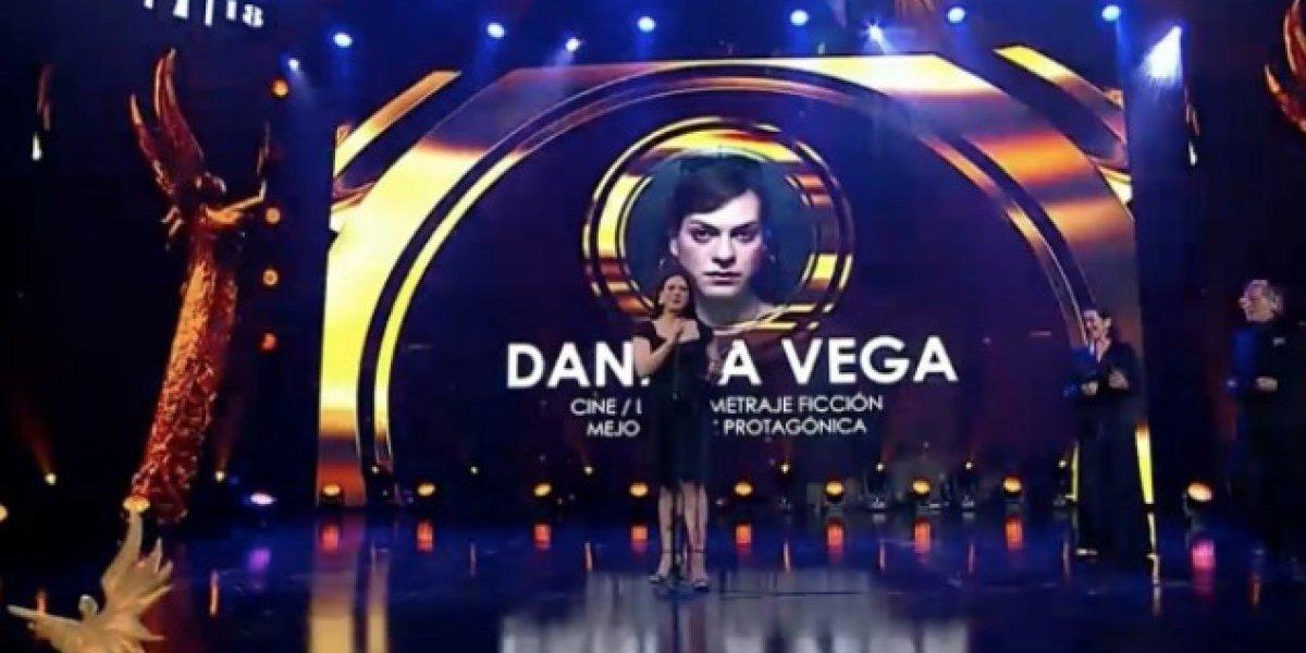 """Premios Caleuche: Daniela Vega y """"Perdona nuestros pecados"""" triunfaron en una emotiva noche"""