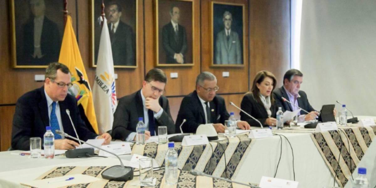 Ecuador y EE.UU. fortalecen lazos de amistad en temas legislativos