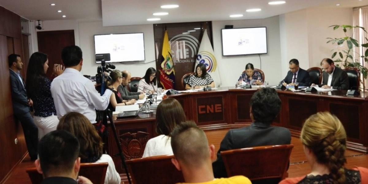 CNE niega por segunda vez entrega de clave para inscripción de Partido Revolución Ciudadana