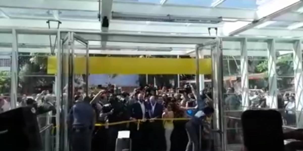 Vídeo mostra inauguração da estação Higienópolis do metrô
