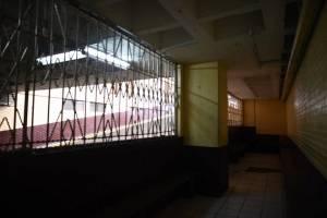 carceletas de Tribunales vacías por suspensión de traslado de reos