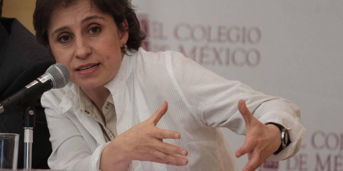 Cesan a la periodista Carmen Aristegui tras incidente con Méxicoleaks
