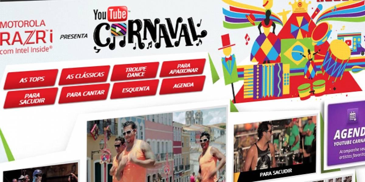 Google transmitirá los carnavales de Brasil a partir del jueves