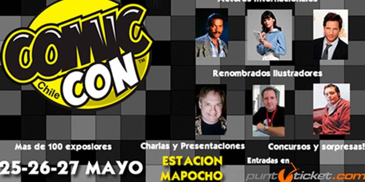 Chile: Hoy comienza Comic Con Chile 2012 con grandes invitados