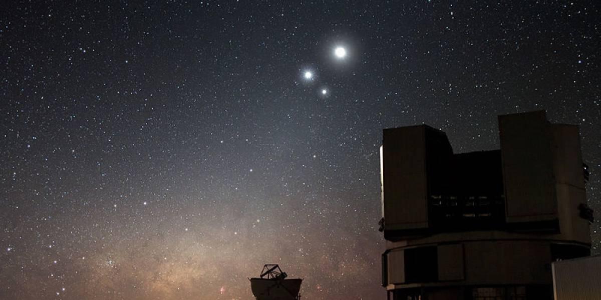 Se podrá observar una conjunción planetaria en los próximos días
