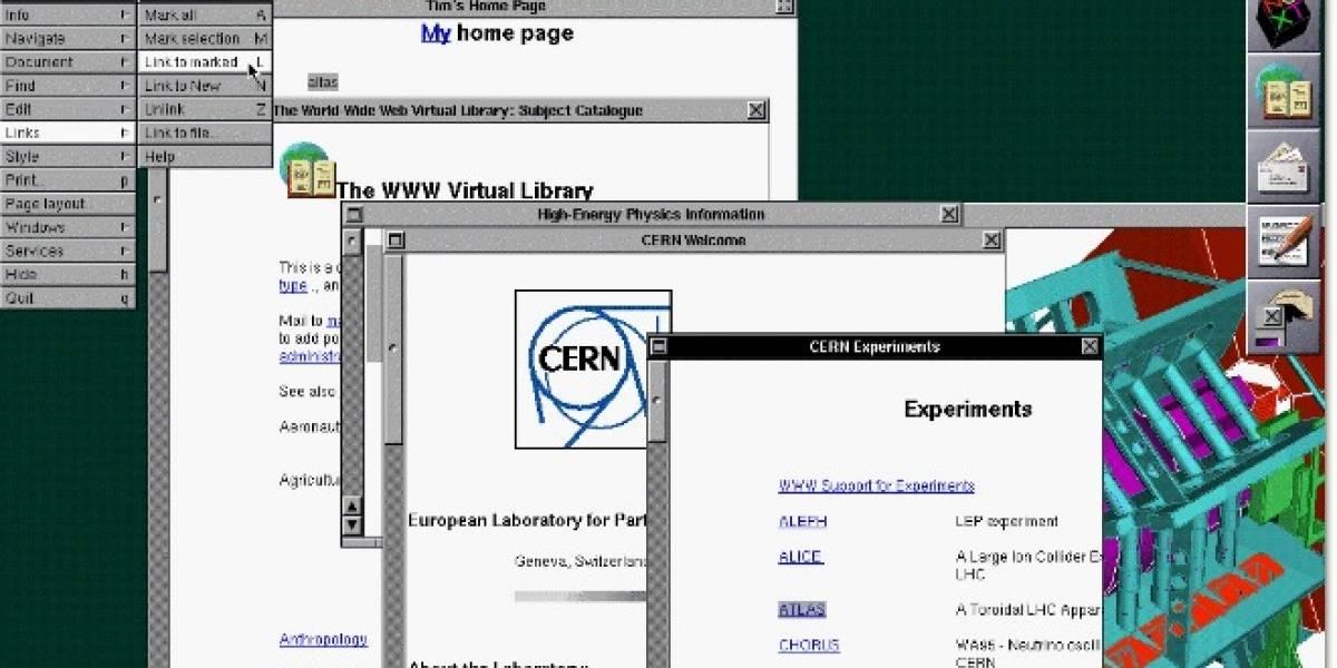 CERN recupera el primer sitio web del mundo en su URL original