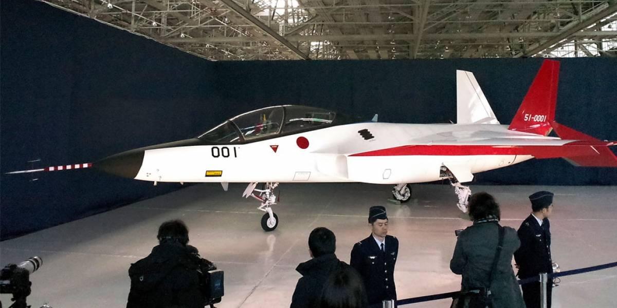 Mitsubishi presenta su primer avión de combate stealth hecho en Japón