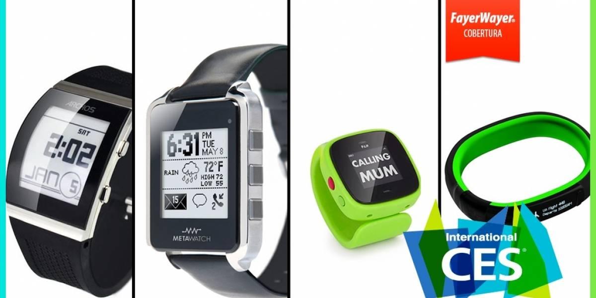 12 relojes inteligentes que se presentaron en #CES2014