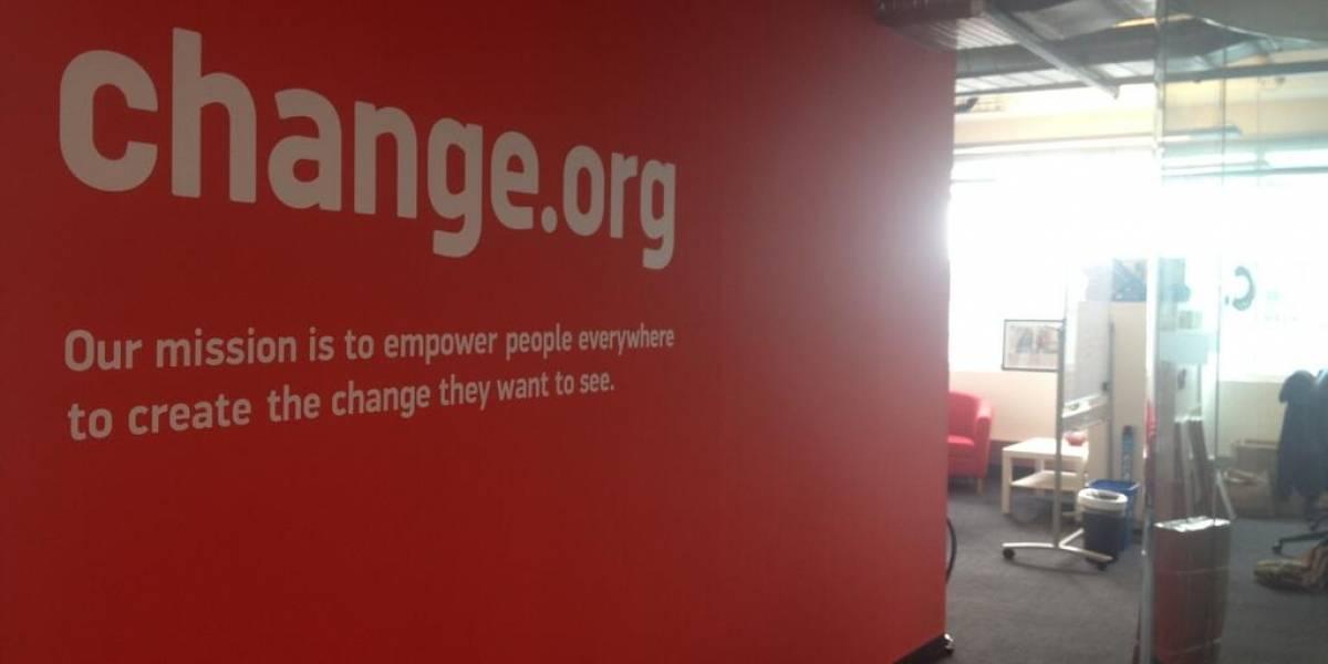 Change.org recibe USD $25 millones de famosos inversores