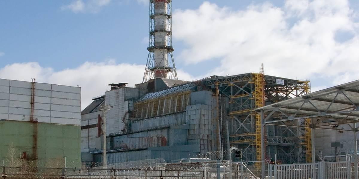 Se derrumbó parte del techo de la planta nuclear de Chernóbil
