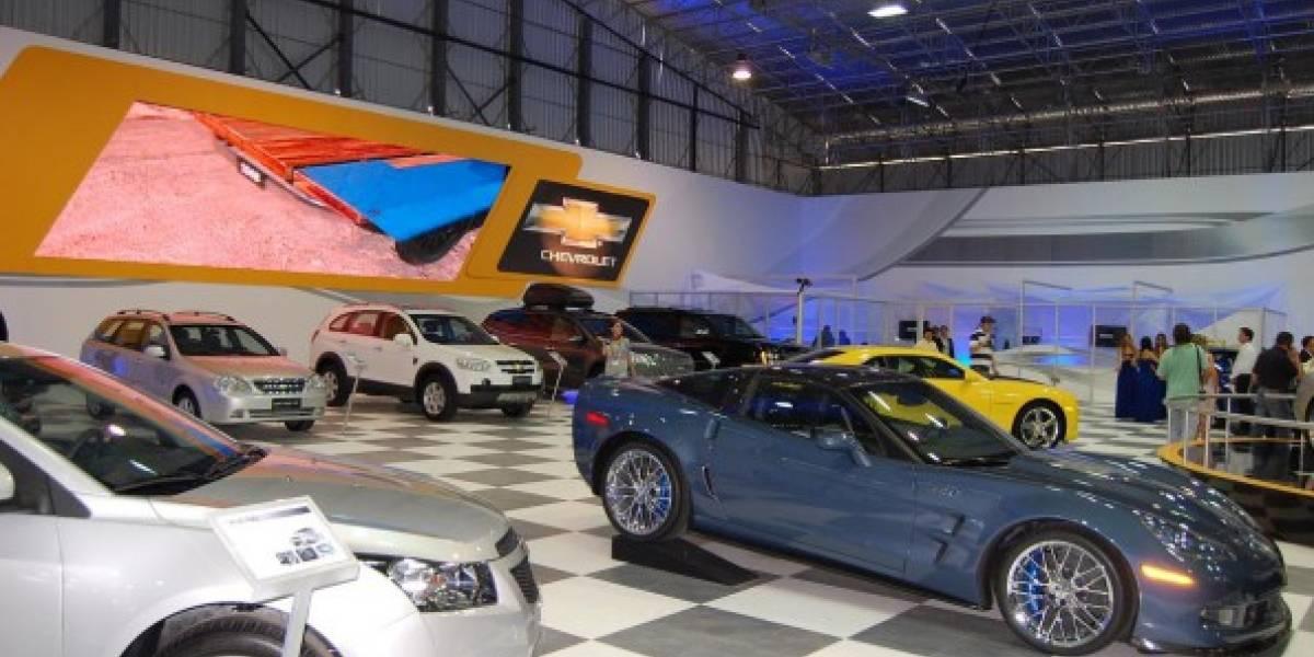Salón del Automóvil en Chile: Chevrolet transmite video en vivo desde su stand