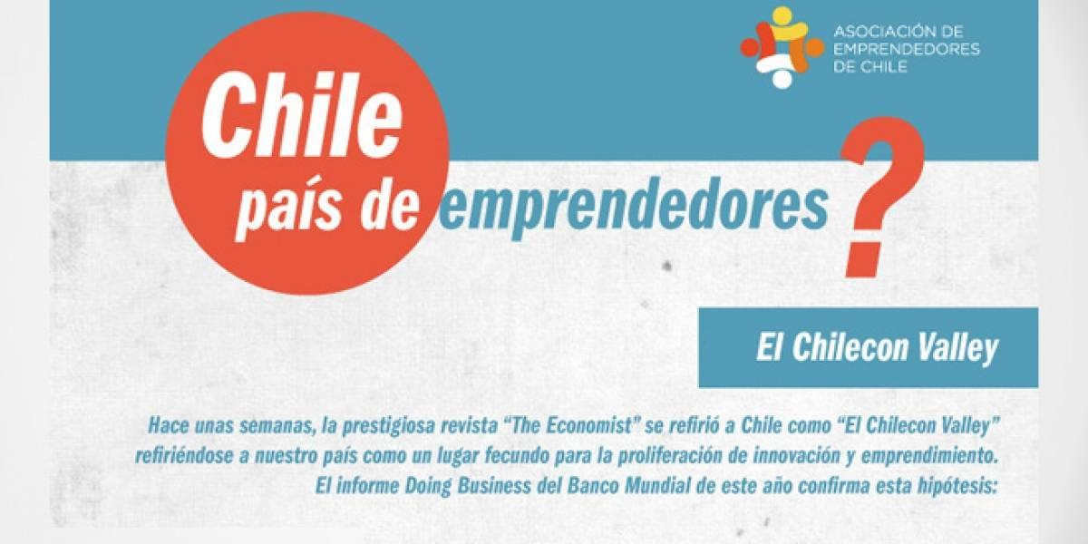 Chile: Infografía muestra datos sobre el emprendimiento en el país