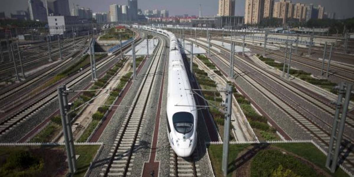 Retiran 54 trenes-bala de la ruta Beijing-Shanghai en China
