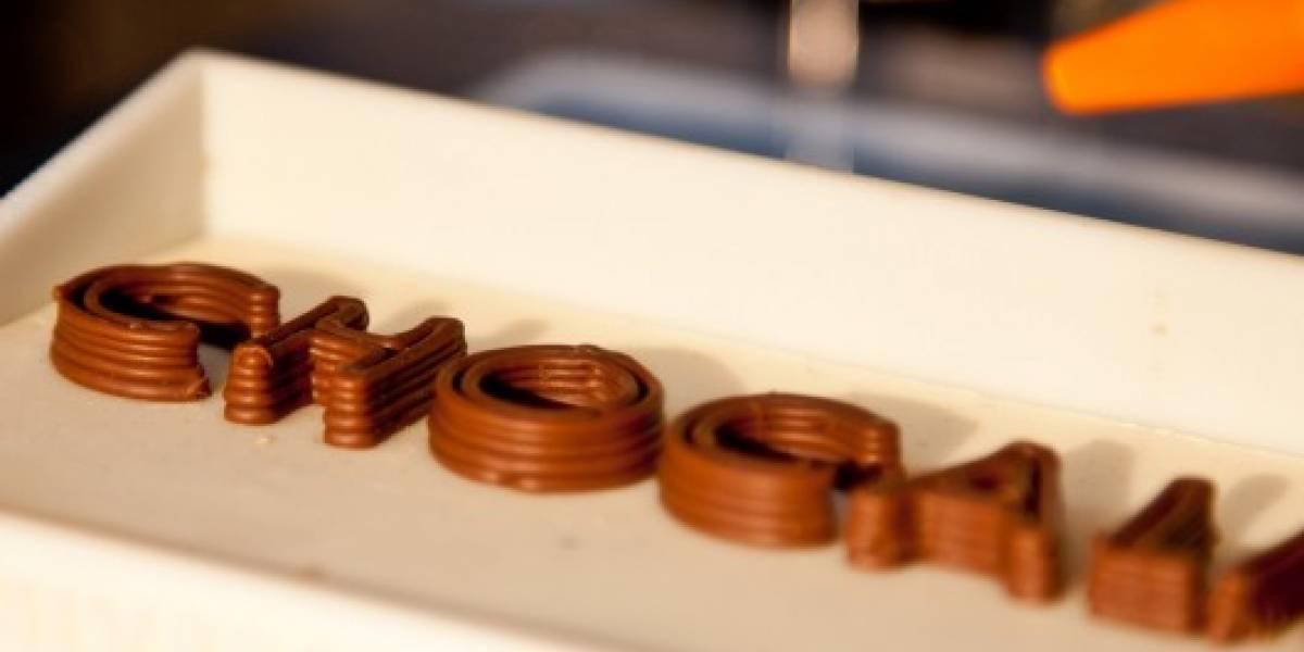 Ahora se puede imprimir en 3D con chocolate