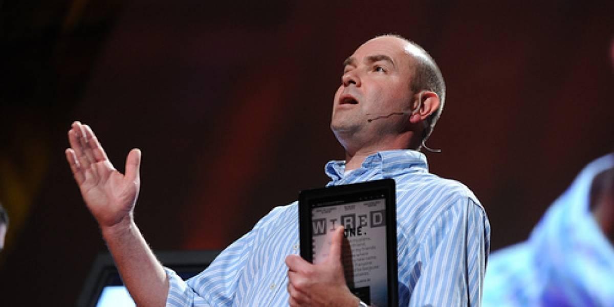 Chris Anderson, editor en jefe de Wired, deja su cargo para dedicarse a su empresa de robots