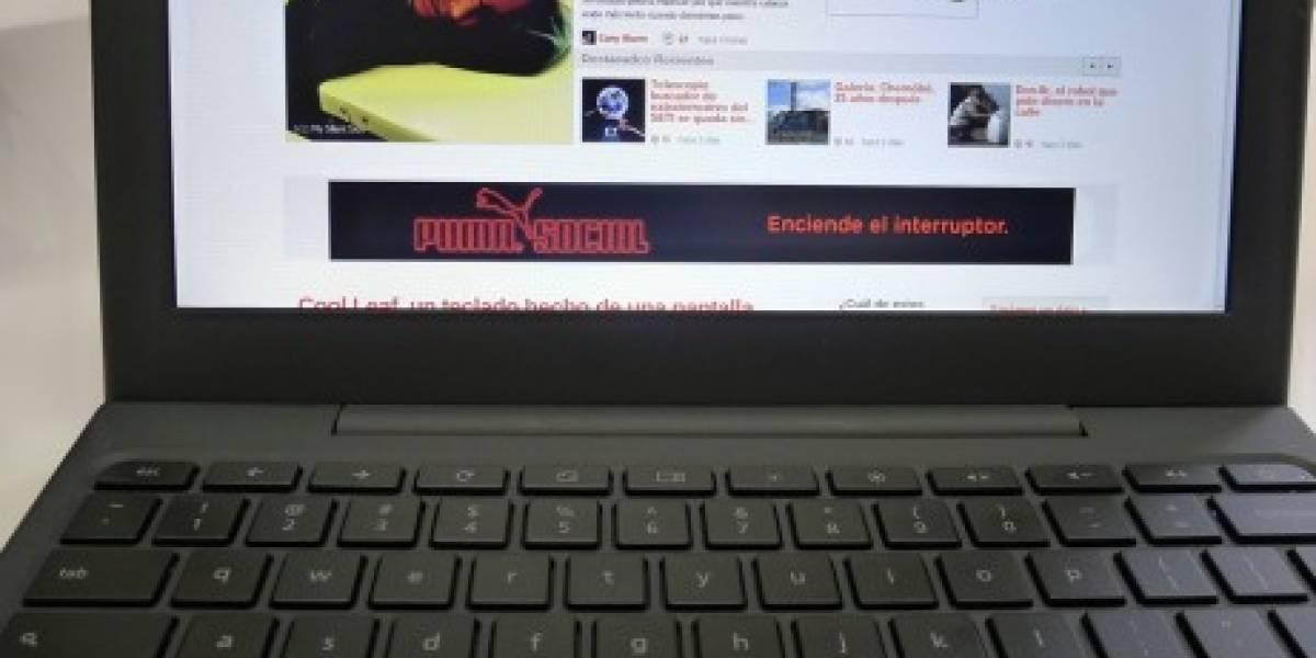 Futurología: Google lanzará sistema de arriendo de notebooks con Chrome OS