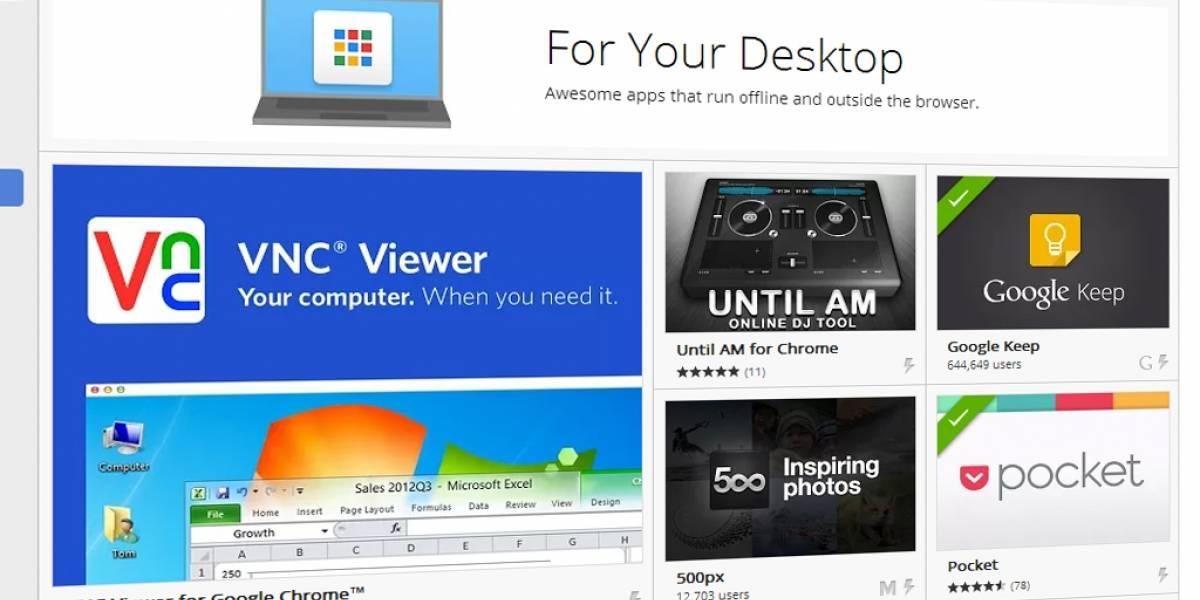 Aplicaciones de Chrome ahora pueden funcionar independientes del navegador