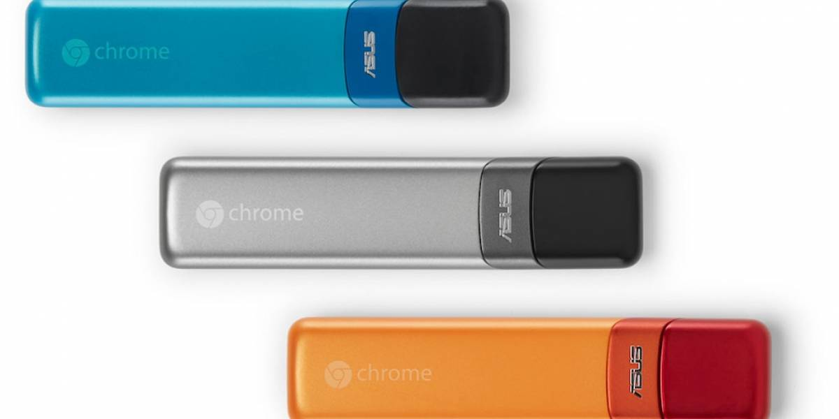 Google y Asus lanzan Chromebit, un pendrive HDMI con Chrome OS