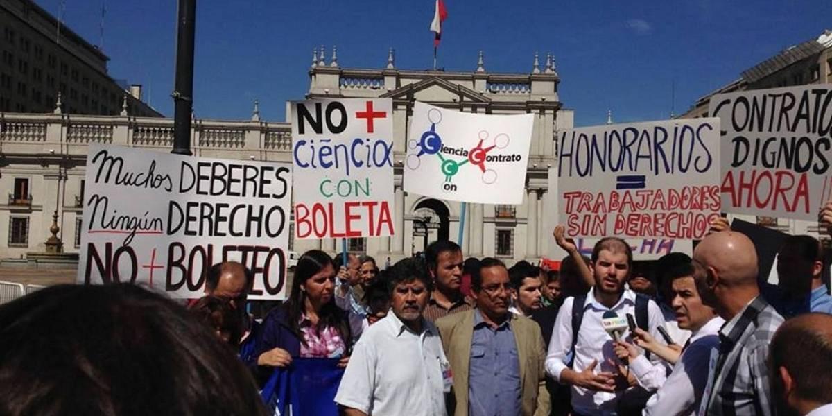 La comunidad científica anuncia movilización frente a La Moneda