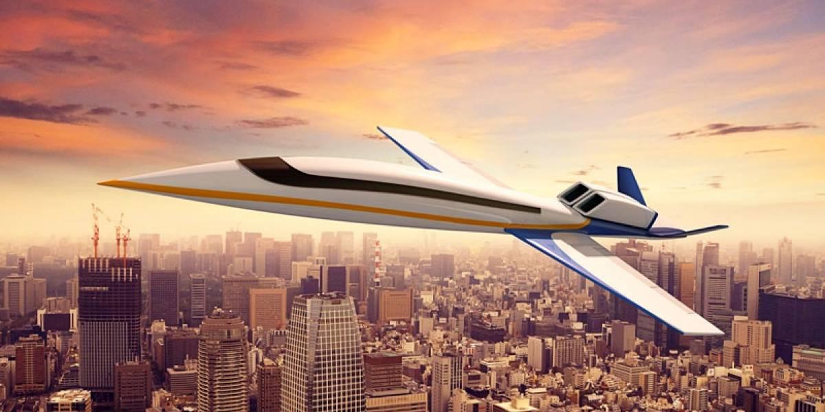 Jet privado Spike S-512 busca ser el primer avión de negocios supersónico