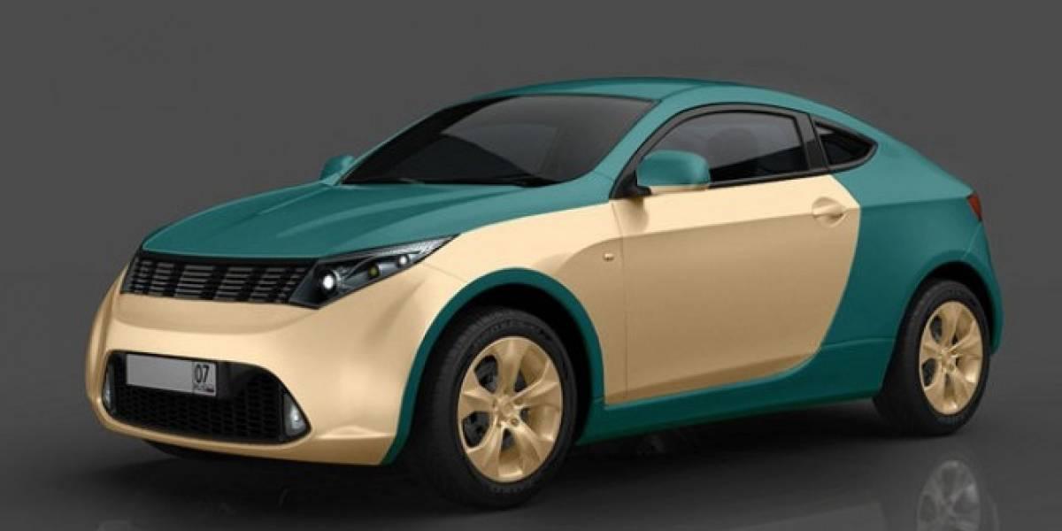 Multimillonario ruso crea el primer auto híbrido de su país