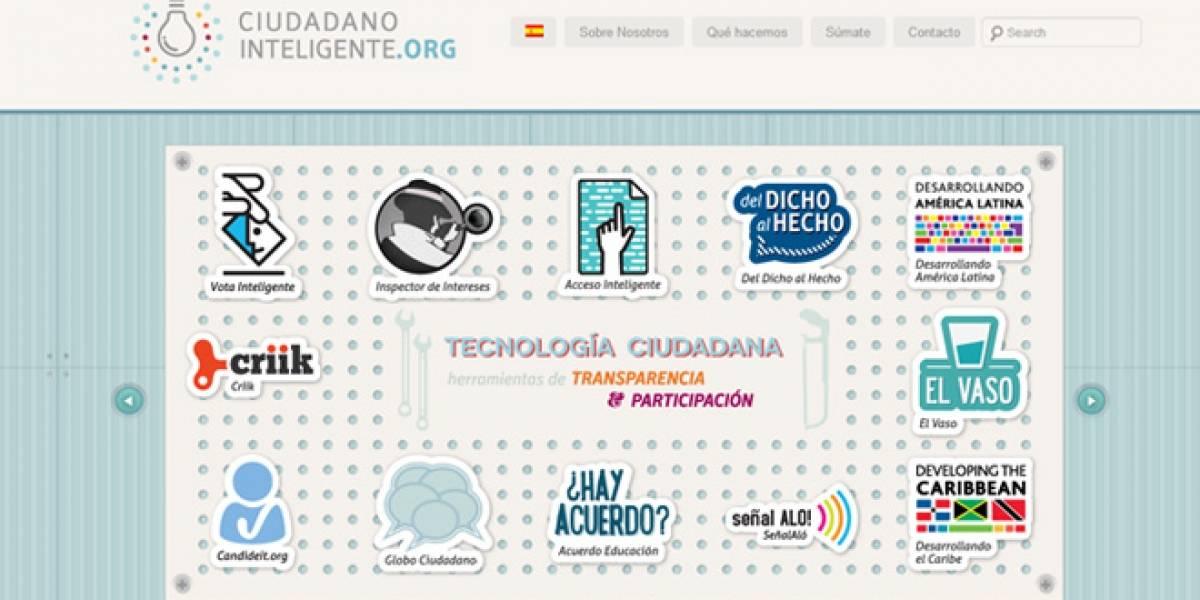 Chile: Ciudadano Inteligente lanza nuevo sitio y llama a voluntarios a participar