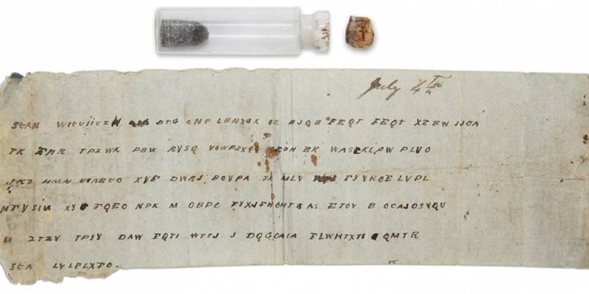 Descifran mensaje enviado durante la guerra civil en Estados Unidos