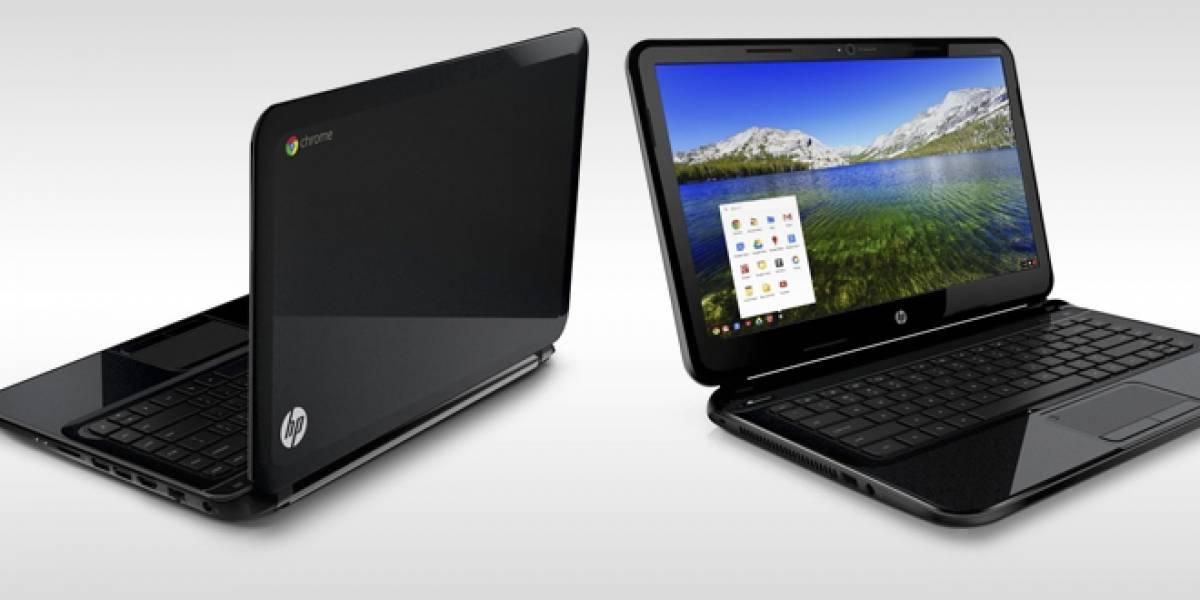 HP lanza al mercado su primer Chromebook