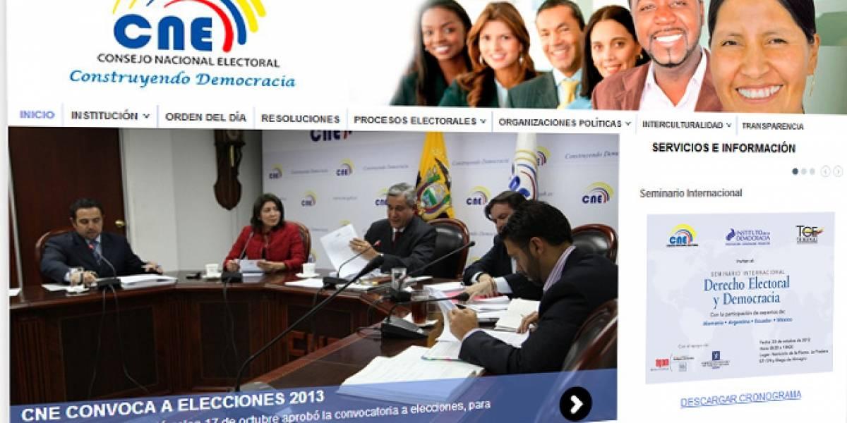 Ecuador buscaría regular las redes sociales en época electoral