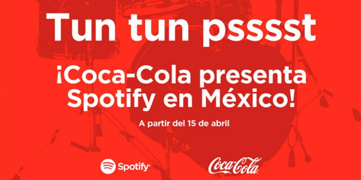 Confirmado: Spotify llega a México el próximo 15 de abril