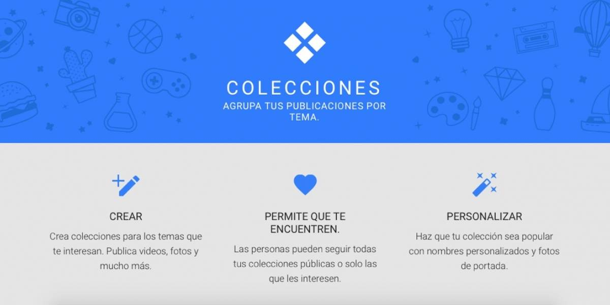 Google+ no está muerto, lanza Collections para competirle a Pinterest