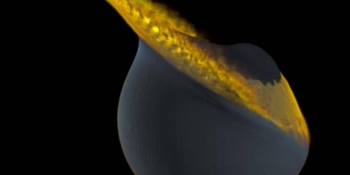 La Tierra habría tenido una segunda luna que chocó y deformó la que conocemos