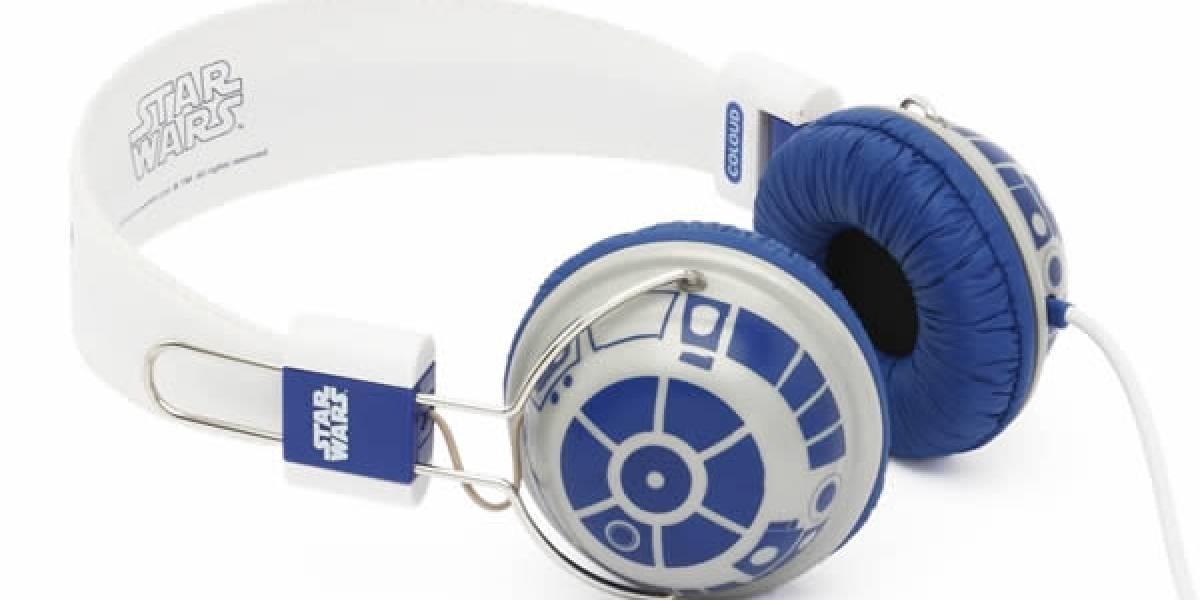 Los picados pueden darle todo el estilo de R2-D2 a sus audífonos