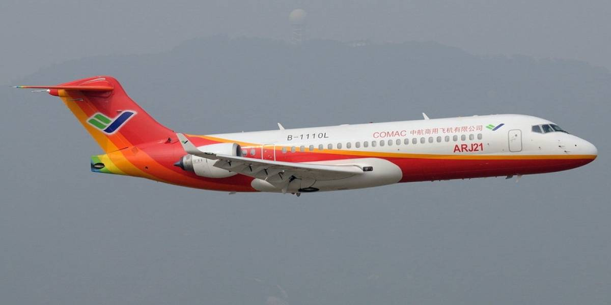 Comac ARJ21-700 es el primer jet comercial hecho en China