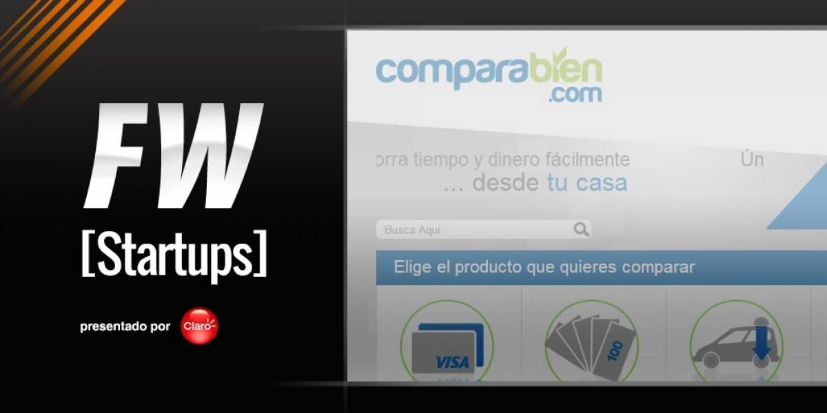 Comparabien coteja servicios financieros en Latinoamérica [FW Startups]