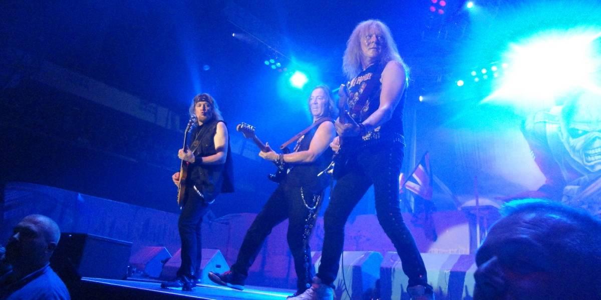 Iron Maiden usa las descargas BitTorrent para saber en que país dar conciertos
