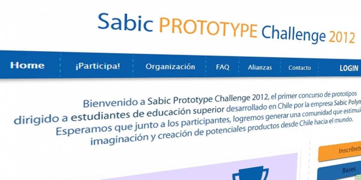 Chile: Presenta un prototipo en el concurso Sabic Prototype Challenge y gana hasta CLP$2 millones