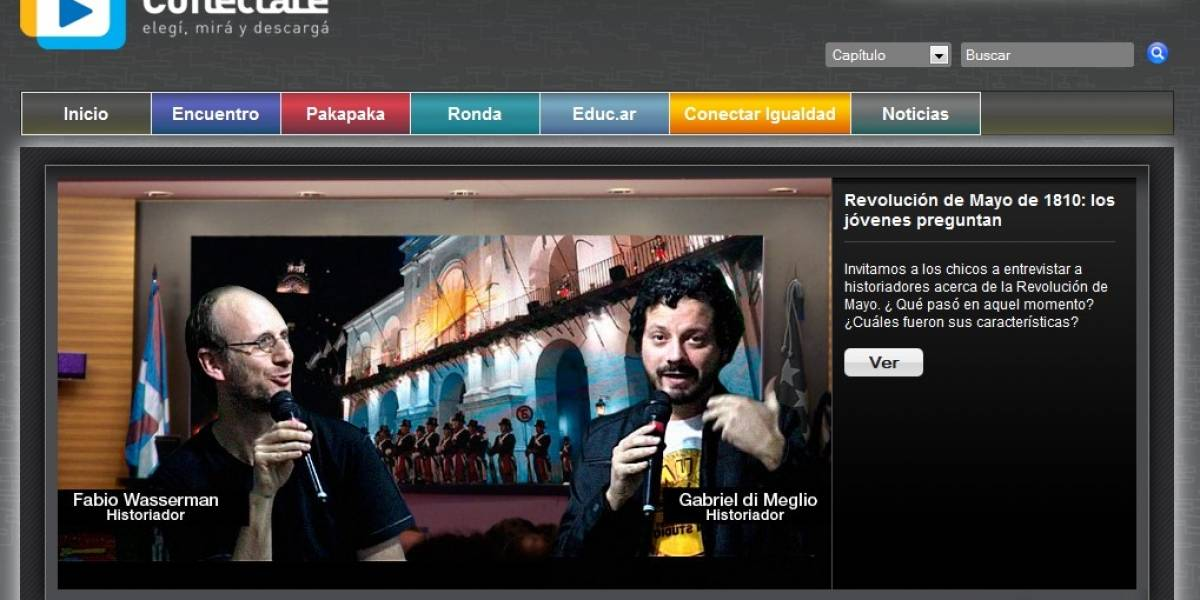 Argentina: Se lanzó Conectate, el portal web con contenidos para estudiantes
