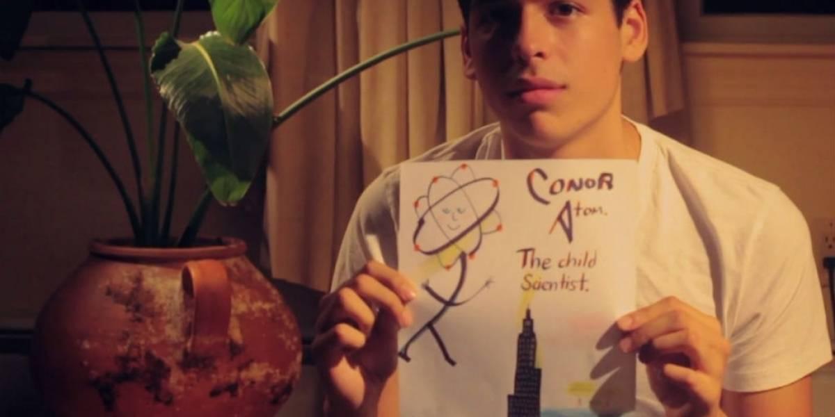 Conor Atom, el niño científico, pide ayuda en Indiegogo