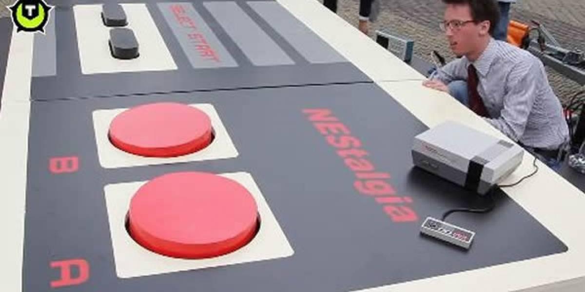 En Holanda ahora hay que jugar Nintendo con los pies