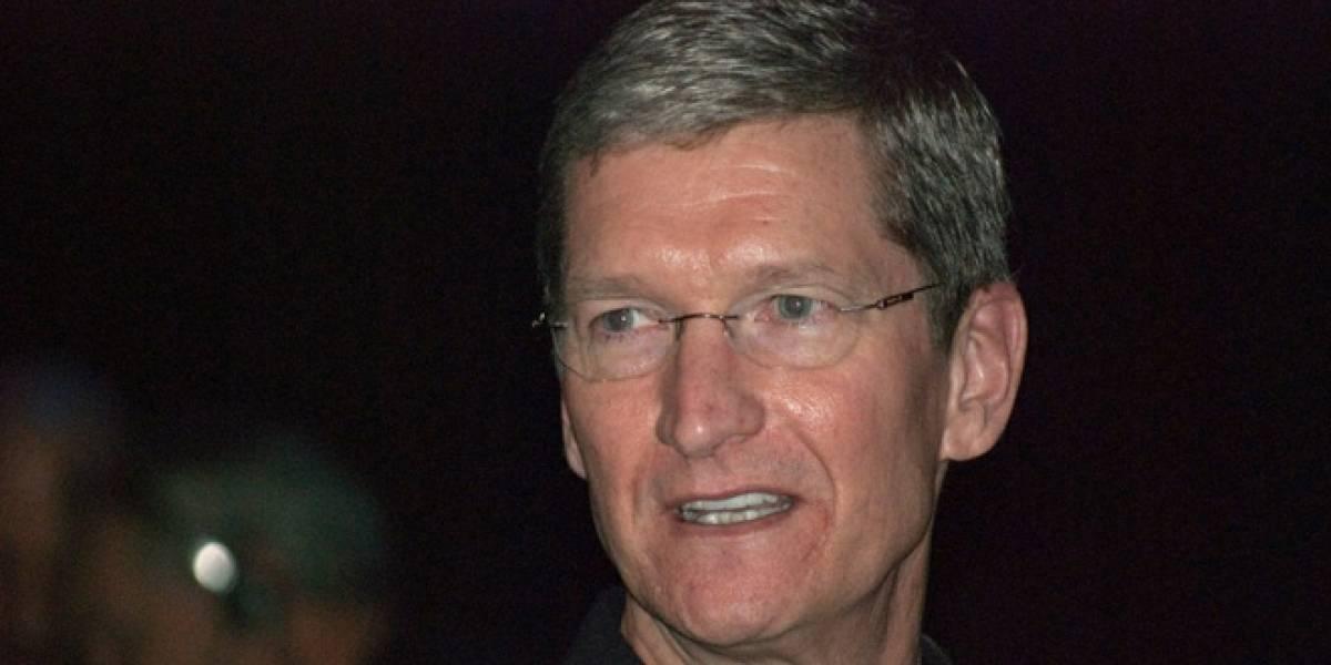 Tim Cook renuncia a USD$75 millones que le pagaría Apple