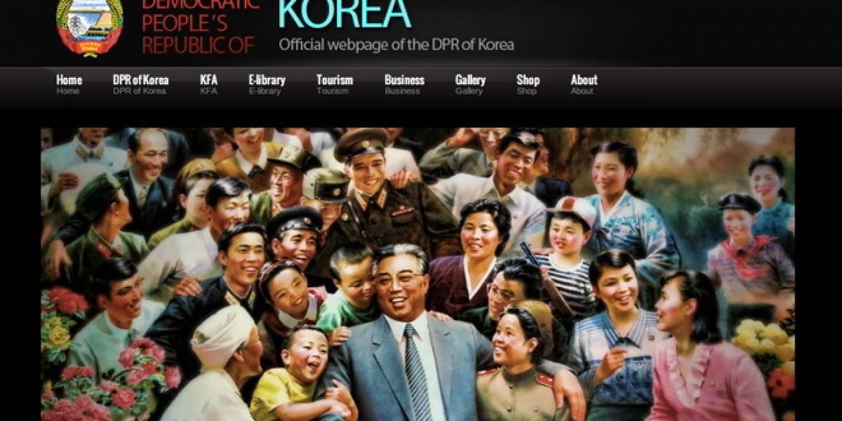 La página oficial del gobierno de Corea del Norte costó USD$15
