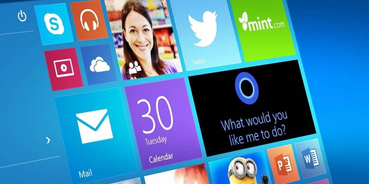 Así se vería el nuevo menú inicio de Windows 10
