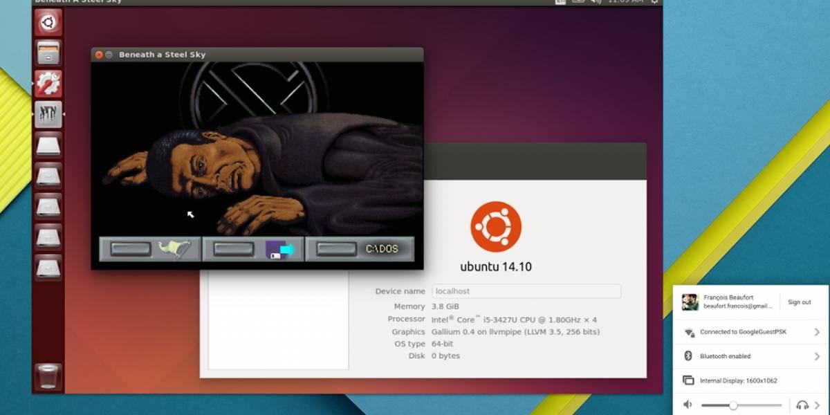 Ahora es posible ejecutar Linux en una ventana al interior de Chrome OS
